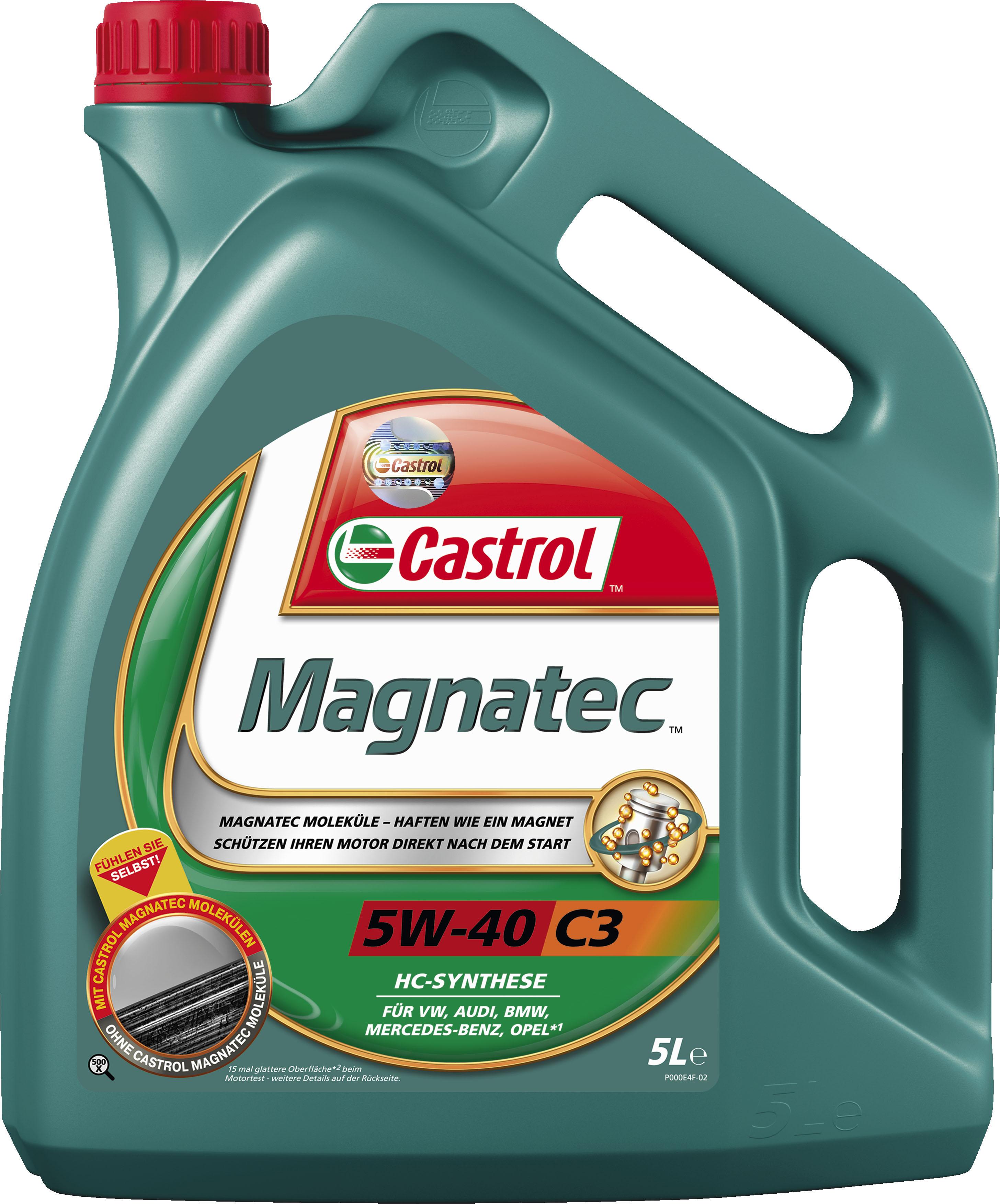 original castrol magnatec 5w 40 c3 5l 5 liter motor l l. Black Bedroom Furniture Sets. Home Design Ideas