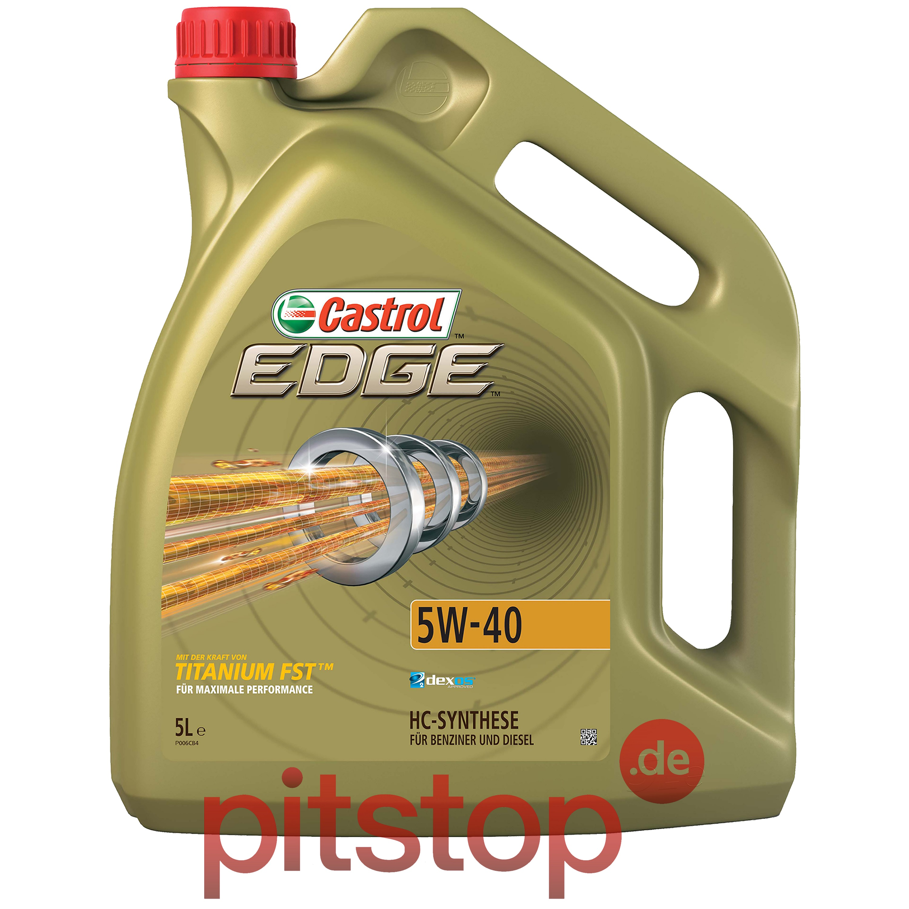 original castrol edge titanium fst 5w 40 5l 5 liter motor l l 1535f1 ebay. Black Bedroom Furniture Sets. Home Design Ideas